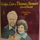'78 EVELYN LEAR & THOMAS STEWART LP MARTIN KATZ Piano Live In Recital SEALED