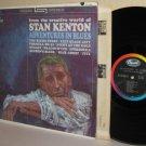 1961 STAN KENTON LP Adventures In Blues - Mellophonium
