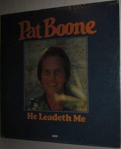 '76 PAT BOONE Xian LP He Leadeth Me - Still SEALED