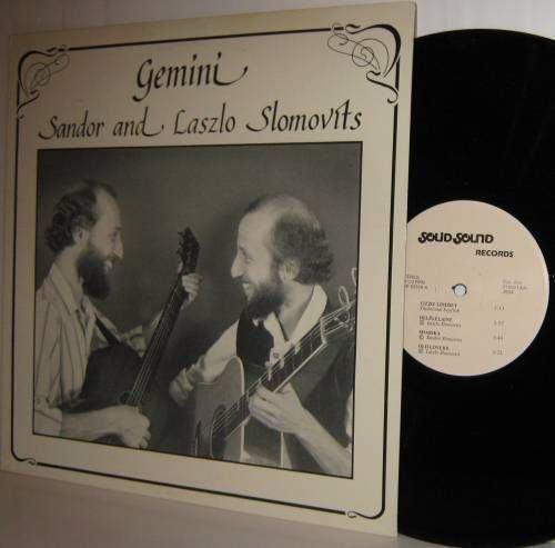 SANDOR & LASZLO SLOMOVITS LP Songs From  The Heartland