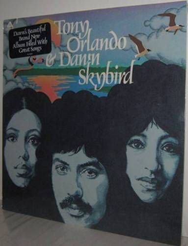 '75 TONY ORLANDO & DAWN LP Skybird - Still SEALED