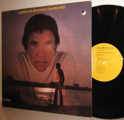 '71 BUDDY RICH (re) LP A Differen Drummer