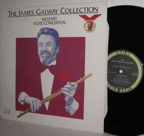 JAMES GALWAY Collection MOZART Flute Concertos LP Mint-