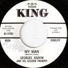 '62 GEORGES JOUVIN 45 My Man - KING Label WLP Promo