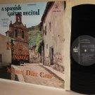 1968 MANUEL DIAZ CANO LP A Spanish Guitar Recital - Ex