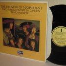 DAVID MUNROW Early Music Consort of London LP Triumphs of Maximilian I Ex / NM