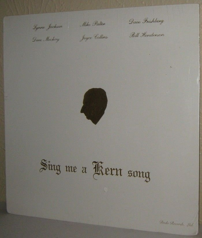 LYNNE JACKSON & Others LP - Sing Me A Kern Song Still Factory SEALED Jerome Kern