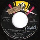 1960 AL MARTINO 45 Come Back To Me on 20th Fox MINT MINUS