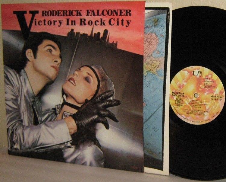 1977 RODERICK FALCONER LP Victory In Rock City VG+ / Mint Minus
