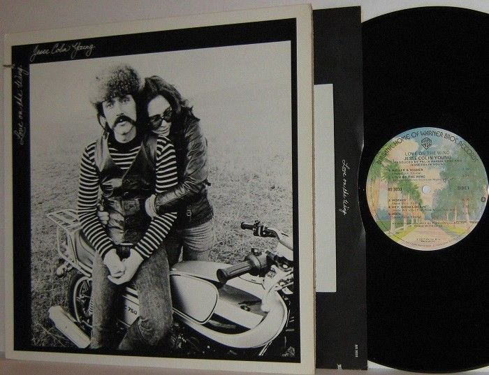 1977 JESSE COLIN YOUNG LP Love On The Wing Ex / Ex Youngbloods