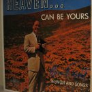 1960 MERV ROSELL Xian LP Heaven Can Be Yours Sermon & Songs STILL FACTORY SEALED