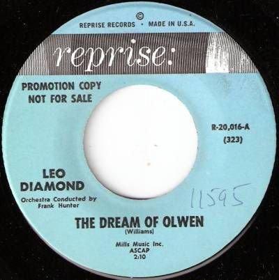 '61 LEO DIAMOND Promo 45 The Dream Of Olwen- Harmonica