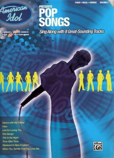 KARAOKE CD & Songbook - AMERICAN IDOL Vocal Sing-Along