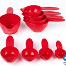 POURfect Measuring Cup Set 9pc Empire Red Made in USA