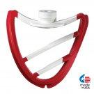 POURfect Scrape-A-Bowl Flex Edge 5.0qt Tilt Head KitchenAid Mixers Empire Red Made in USA