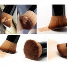 Pro Foundation Blush Angled Flat Top Base Liquid Brush Cosmetic Makeup Tool