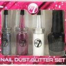 W7 Nail Dust Glitter Sealed Gift Set