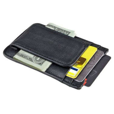 Genuine Leather Money Clip Magnetic