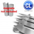 "FREE Shipping Lot of 1000 Collar Stays (500 pair) 3.0"" inch , magnetic steel neodymium"