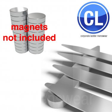 """FREE Shipping Lot of 1000 Collar Stays (500 pair) 2.5"""" inch , magnetic steel neodymium"""