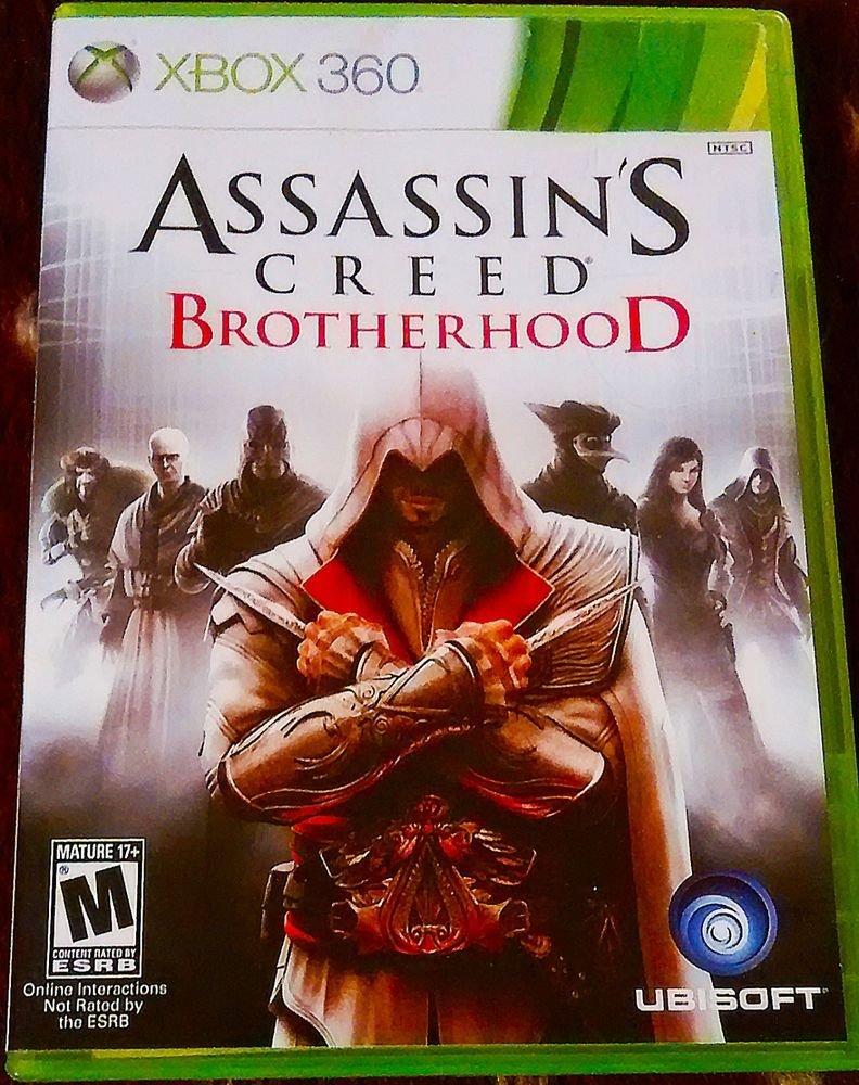 Assassin's Creed: Brotherhood (Microsoft Xbox 360, 2010) CIB COMPLETE