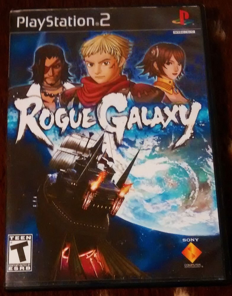 Rogue Galaxy (Sony PlayStation 2, 2007) Unique RPG PS2 Classic Tested