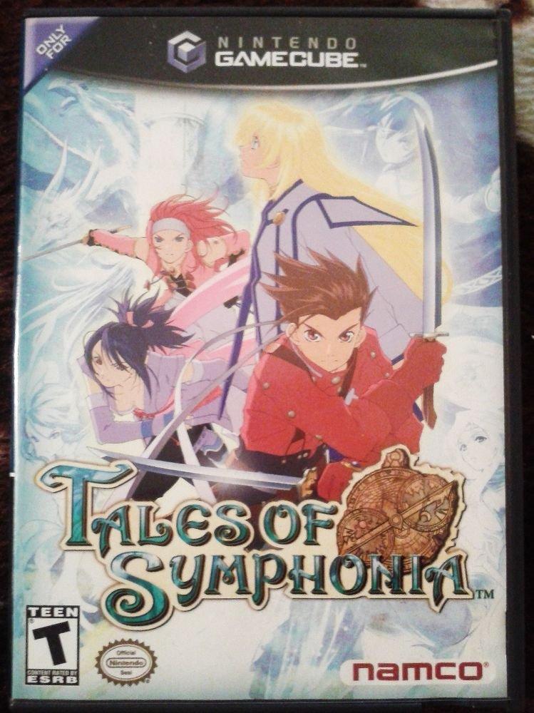 Tales of Symphonia  (Nintendo GameCube, 2004) COMPLETE
