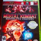 Mortal Kombat Komplete Edition (Xbox 360, 2012) Complete Very Good Condition