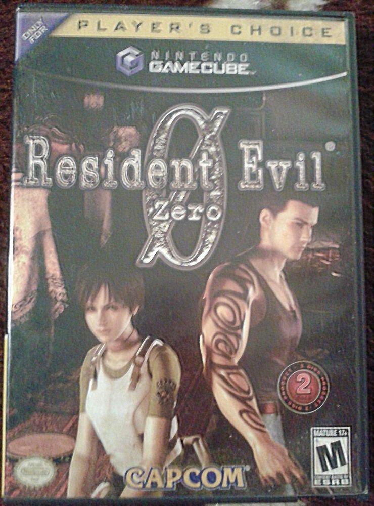 Resident Evil Zero  (Nintendo GameCube, 2002) - Free Shipping