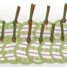 Set of 16 Christmas Holiday Streamers Gift or Hang Tags