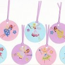 Set of 7 Fairy / Faerie Gift or Hang Tags