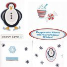 Set of 4 Winter Greeting Cards with Envelopes