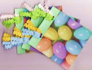Set of 3 Mini Book Easter Egg Cards