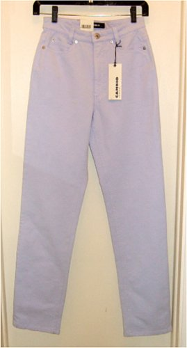 NWT CAMBIO STRETCH LYCRA JEANS SHARON LAVENDER 4 - $175 msrp
