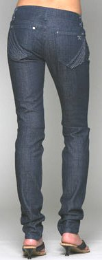NWT JOE'S JEANS CHELSEA ULTRA SKINNY STRETCH DARK size 25 / 4