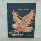 Space Firebird Arcade Game Manual Original
