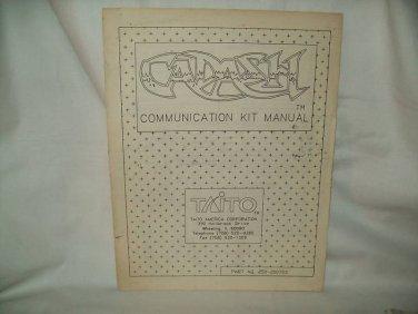 Cadash Arcade Game Manual Original