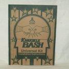 Knuckle Bash Arcade Game Manual Original