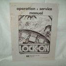 Lock-On Arcade Game Manual Original