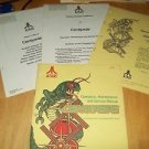 Centipede Original Operation, Maint, & Serv & Drawing