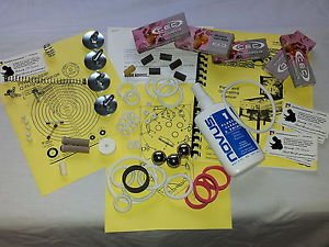 Data East Lethal Weapon 3   Pinball Tune-up & Repair Kit