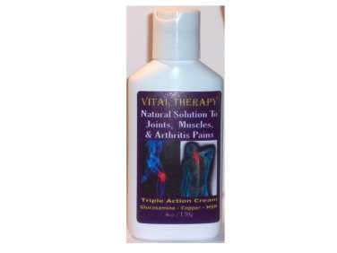 NATURAL COPPER JOINT CREAM - 4oz/120g