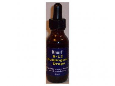 VITAMIN B12 SUBLINGUAL LIQUID DROPS - 30mL