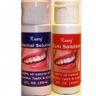 Knarf Dental Solution & Knarf Gum Solution (2 Bottles)....... (2 Products Combination Therapy)