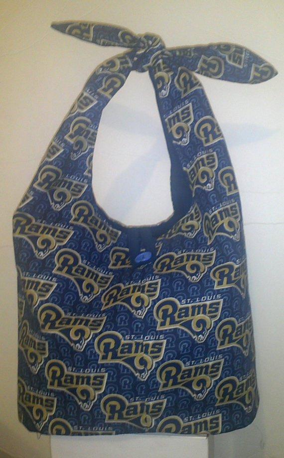 St. Louis Rams Print Tie Handbag