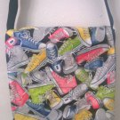 Sneakers Print Children Messenger / Cross Body Bag