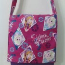 Frozen - Handmade Sisters Forever Toddler Size Messenger / Cross Body Bag