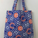 Chicago Cubs Inspired Handmade Tote