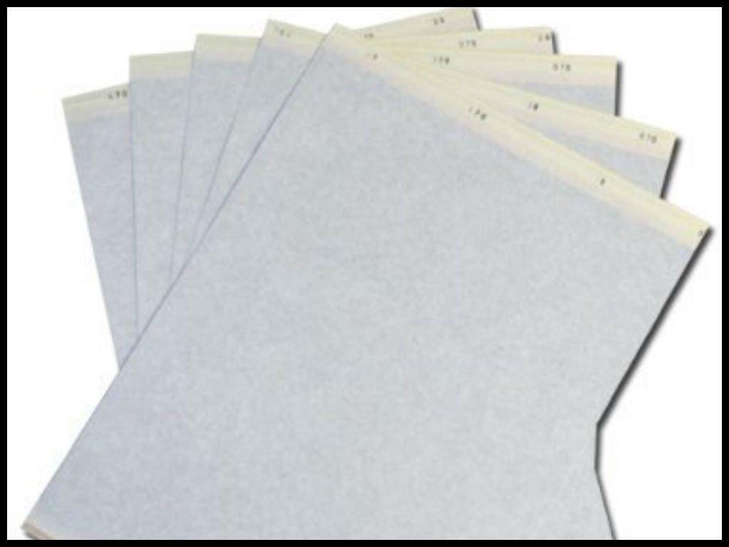 Transfer Stencil Paper 10 Pc Free Hand Or Machine Use