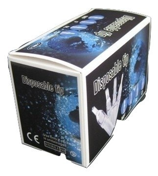 Clear Disposable Tips 50 Pieces 7R